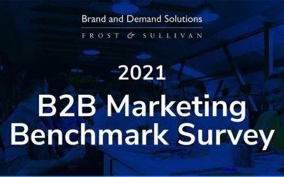 2021 B2B Marketing Benchmark Survey