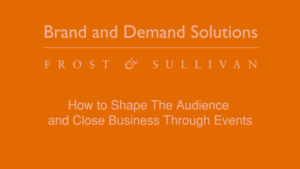 [VLOG] How to Shape The Audience and Close Business Through Events