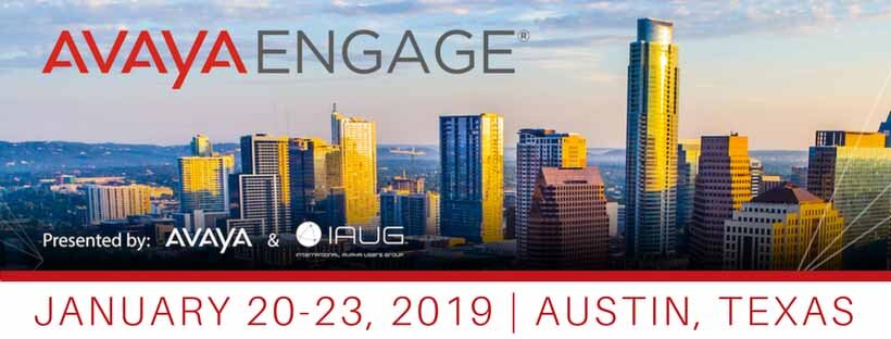 Quick Thoughts on Avaya's Journey and Engage 2019