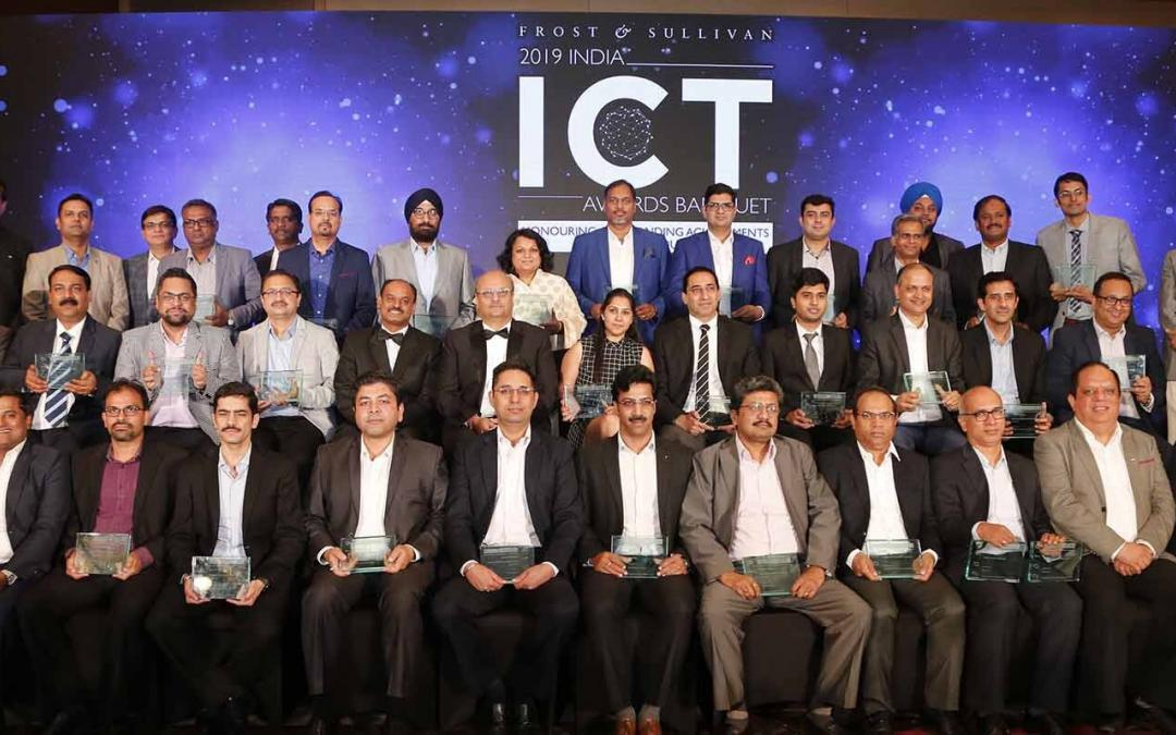 In its 17th Edition, Frost & Sullivan's 2019 India ICT Awards Recognized Frontrunners from the ICT Industry Demonstrating Technological Excellence and Digital Transformation
