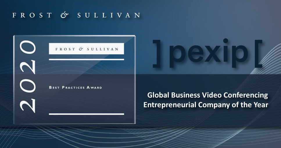 Frost & Sullivan Names Pexip Global Company of the Year for Technology Innovation and Business Growth