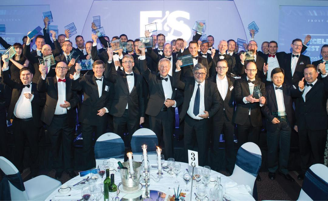 Frost & Sullivan Hosts Pacesetters at Black-tie Awards Gala
