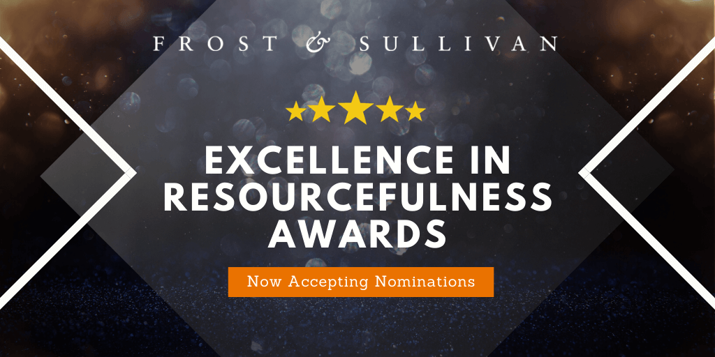 Frost & Sullivan Calls on Utility and City Leaders for Itron Excellence in Resourcefulness Awards Nominations