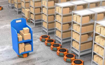 Autonomous Delivery Robots Market for Warehouse Management to Boom and Top $27 Billion by 2025, Says Frost & Sullivan