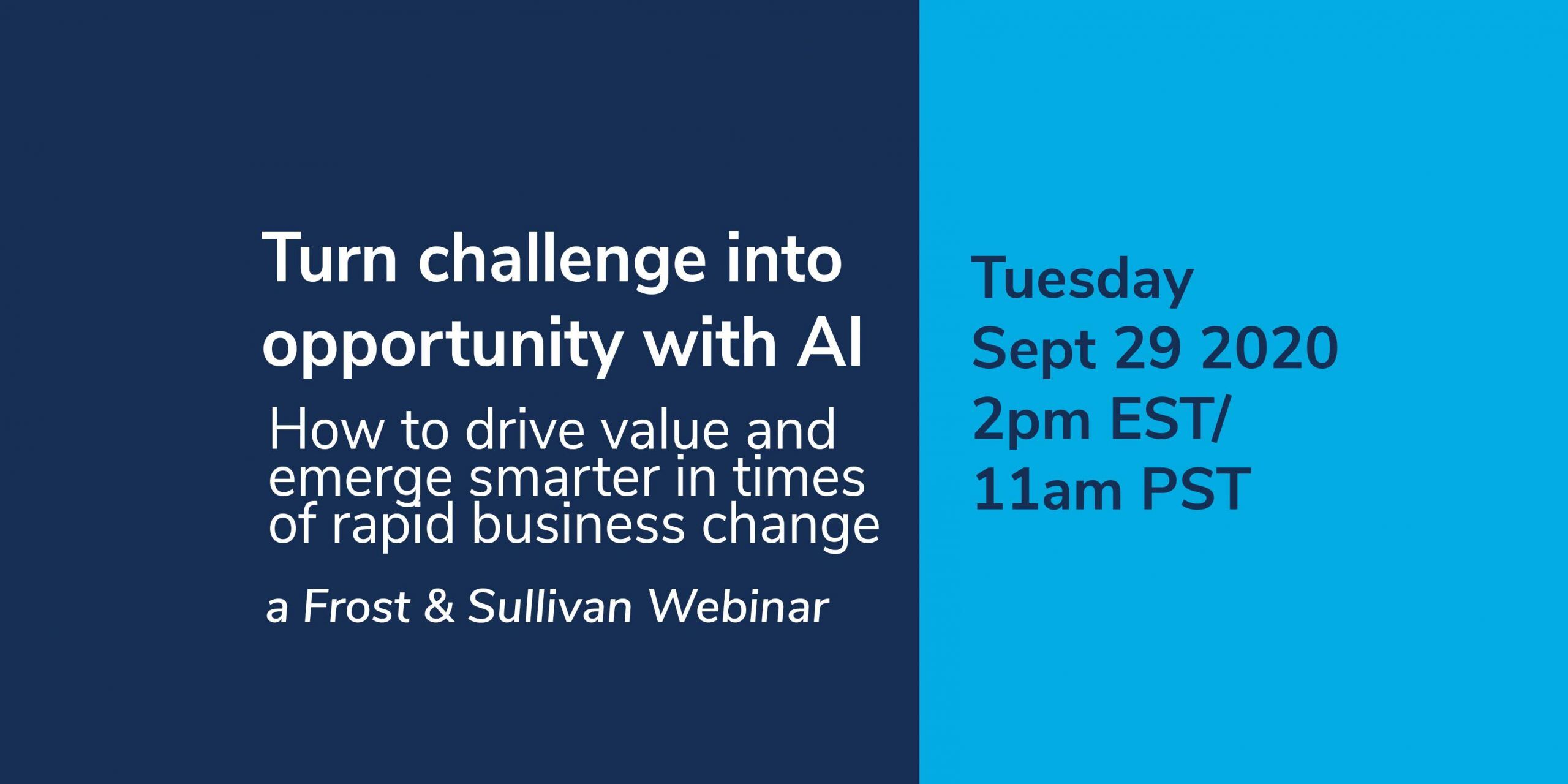 Opportunity with AI Webinar