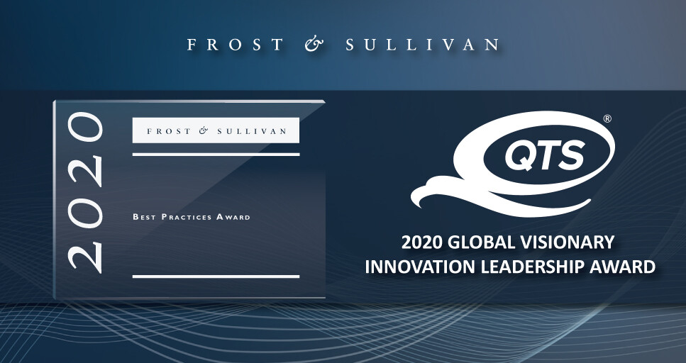 QTS Lauded by Frost & Sullivan for its Best-of-Breed Data Center Facilities Offering Unparalleled Reliability, Resilience, and Operational Visibility