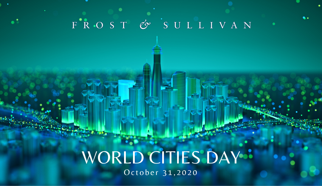 Smart Cities to Create Business Opportunities Worth $2.46 Trillion by 2025, says Frost & Sullivan