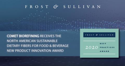 Comet Bio Awarded by Frost & Sullivan