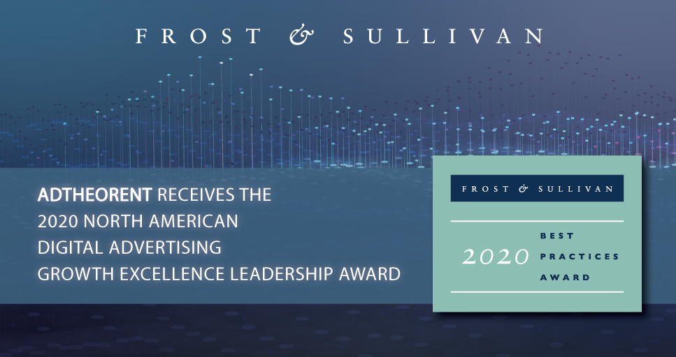 AdTheorent Lauded by Frost & Sullivan for Driving the Next Generation of Digital Advertising Strategies