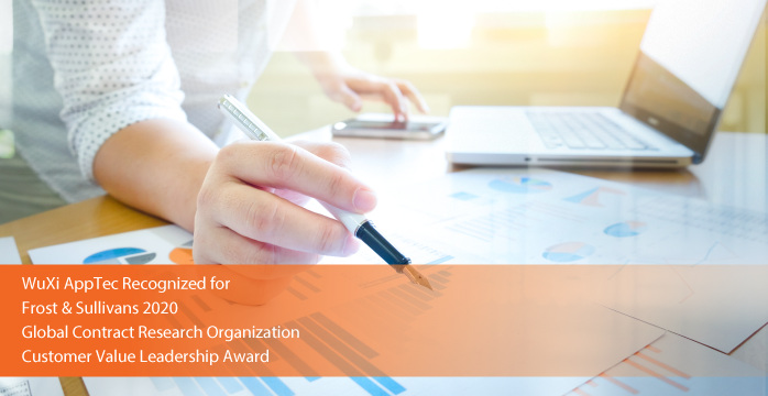 WuXi AppTec Applauded by Frost & Sullivan for Its Unmatched Breadth of Expertise in Facilitating Early-stage Innovation and Clinical Research