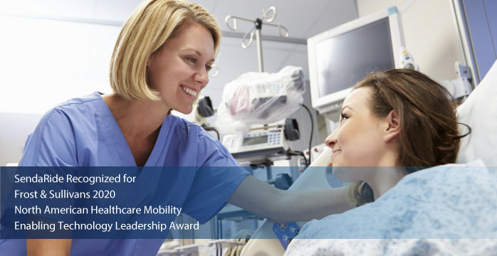 SendaRide Commended by Frost & Sullivan for Leading the Evolution toward Complex Healthcare Mobility with Its Advanced NEMT Platform