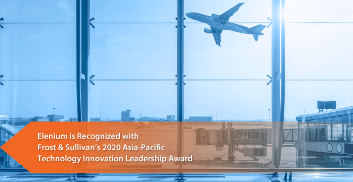 Elenium Commended by Frost & Sullivan for its AI-powered Airport Passenger Self-service Automation Kiosks