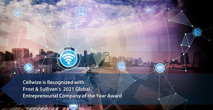 Cellwize awarded by Frost & Sullivan for Accelerating innovation with its Cloud-based open CHIME Platform and by that simplifying the 5G journey