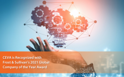 CEVA Lauded by Frost & Sullivan for Addressing the Challenges of Connected Devices with Its Smart Sensing MotionEngine™ Software