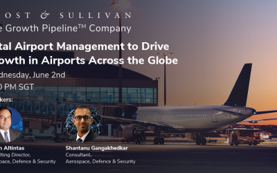 Frost & Sullivan Explores How Total Airport Management is Transforming Operations for Greater Efficiency