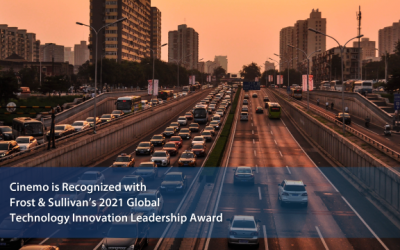 Cinemo Receives 2021 Frost & Sullivan Technology Innovation Leadership Award