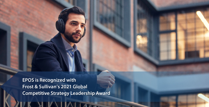 EPOS Recognized by Frost & Sullivan with 2021 Global Competitive Strategy Leadership Award