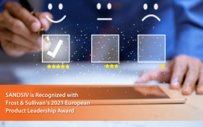 SANDSIV Wins Frost & Sullivan's Award for Leadership in the European VoC Industry for sandsiv+, its Deep Learning-infused Customer Experience Management Platform