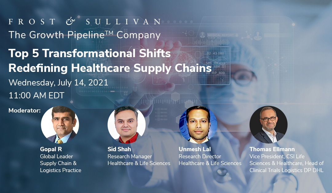 Frost & Sullivan Unfolds Top 5 Transformational Shifts Redefining the Healthcare Supply Chain