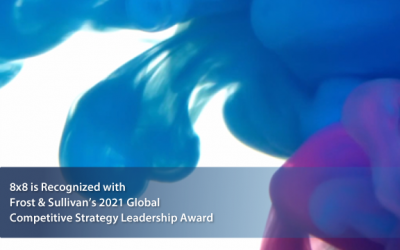8×8 Lauded by Frost & Sullivan for Powering Highly Collaborative Workplace Environments with Integrated Employee (EX) and Customer Experience Management (CX) Solutions