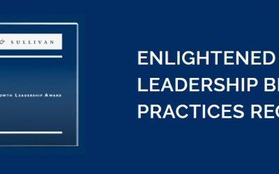 Frost & Sullivan Institute Recognizes Companies with Prestigious Enlightened Growth Leadership Awards