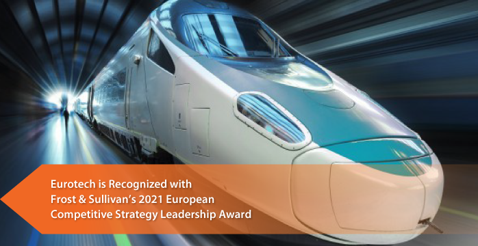 Eurotech commended by Frost & Sullivan for leading the rail IoT market with Its end-to-end Operational Technology solutions