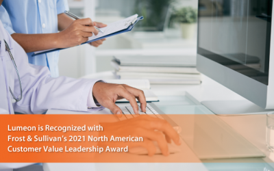 Lumeon Commended by Frost & Sullivan for Enabling Digital Transformation in Healthcare