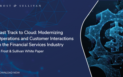 Financial Institutions Partnering with a Cloud Service Provider Can Better Leverage Technological Innovations