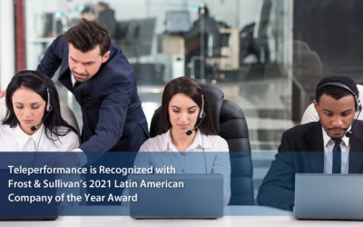 Teleperformance Named 2021 Latin American Company of the Year
