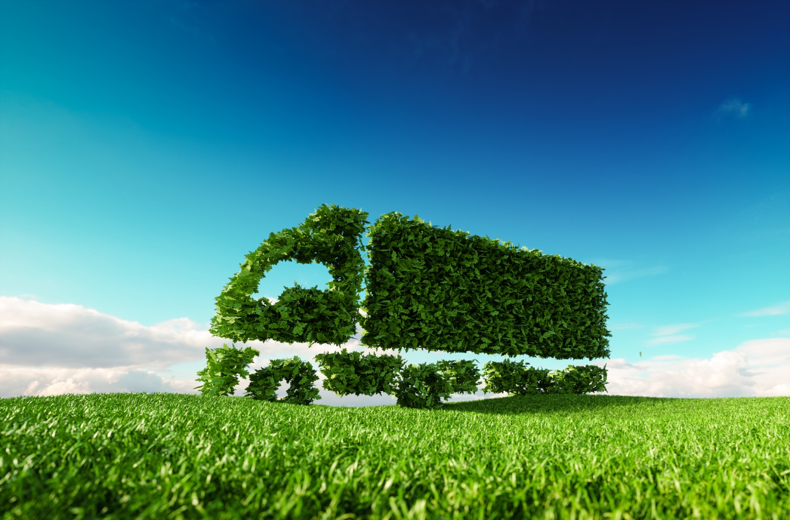 Green commercial vehicle