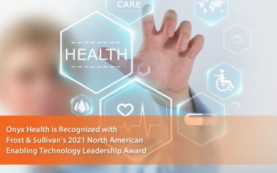 Onyx Acclaimed by Frost & Sullivan for Facilitating Health Data Interoperability with Its SAFHIR Platform
