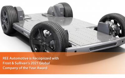 Frost & Sullivan Awards REE Automotive 2021 Global EV Platform