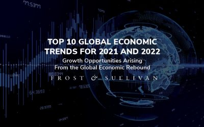 Frost & Sullivan Reveals the Top 10 Global Economic Trends Shaping the Growth Prospects in 2021 and 2022